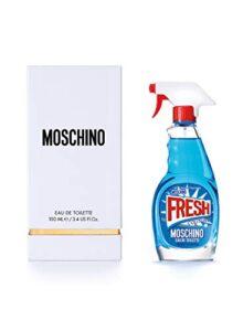 Opiniones Y Reviews De Perfume Moschino Fresh Tabla Con Los Diez Mejores