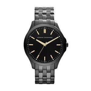 Listado De Reloj Armani Exchange Negro Al Mejor Precio