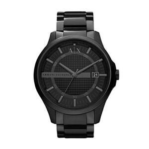 La Mejor Selección De Reloj Armani Negro Top 10