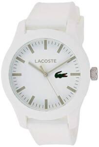 Catálogo De Reloj Lacoste Blanco Favoritos De Las Personas